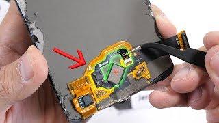 In-Glass Fingerprint Reader TEARDOWN! - How does it work?!