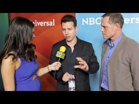 Jon Seda and Jason Beghe from Chicago PD @ NBC Red Carpet | AfterBuzz TV Interview
