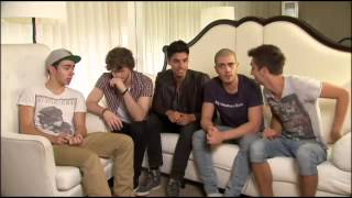 The Wanted sing Afternoon Delight