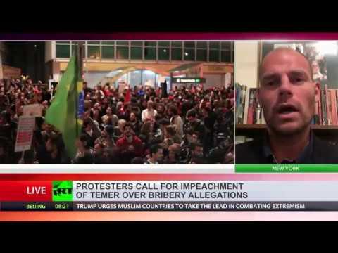 Revolutionary show down in Brazil