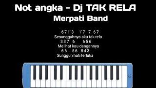 Download Not pianika DJ TAK RELA - Merpati Band || Mudah