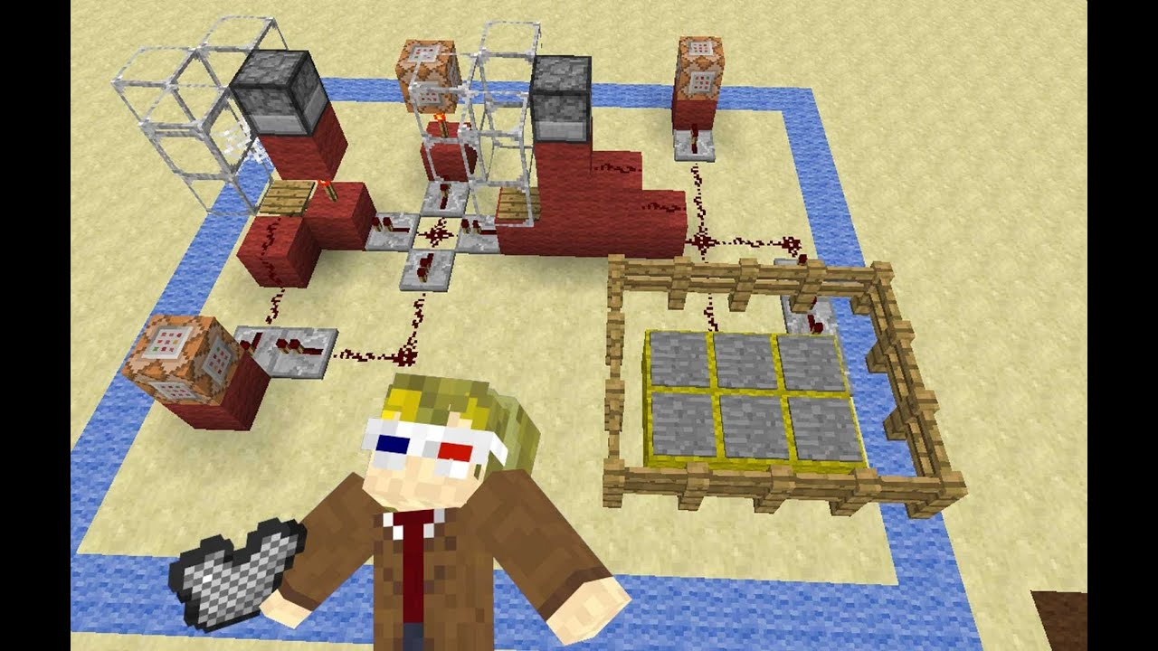 Minecraft 5 Min Timer Fulldownload Minecrafthowtomakearedstoneclockcircuit Minute With 20 Second Warning Lock And
