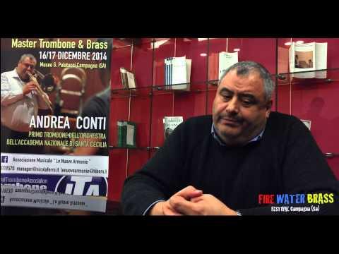 INTERVISTA AD ANDREA CONTI - FIRE WATER BRASS FESTIVAL