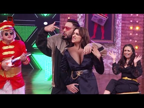 "Parineeti Chopra Live Performance On Shehar Ki Ladki Song With Singer Badshah In ""MOVIE MASTI SHOW"""