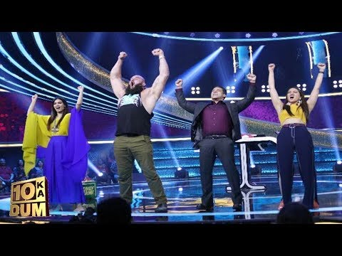 Dus Ka Dum : WWE Superstar Braun Strowmen Meets Salman Khan | Full Episode