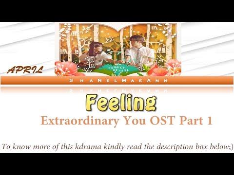 Download 'Feeling' easy s AprilExtraordinary You OST Part 1 #OstEasys Mp4 baru