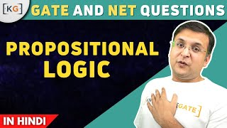 Example Problem on Propositional logic  | examples | problems | gate | net - part 9