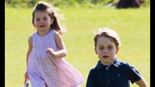 Prince George and Princess Charlotte have c aught the World Cup fever   details