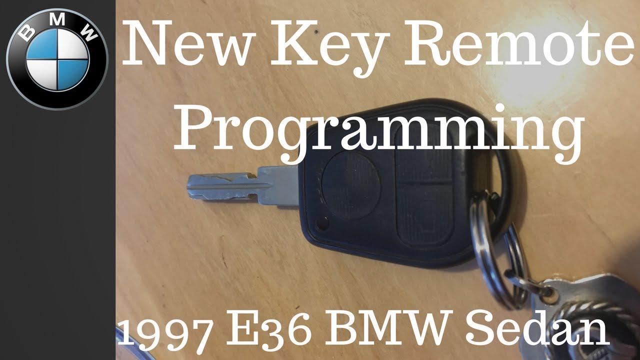 New Key Remote (Keyless entry programming) BMW E36