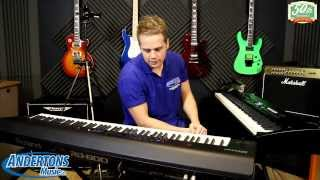 andertons exclusive roland rd 800 digital stage piano namm 2014