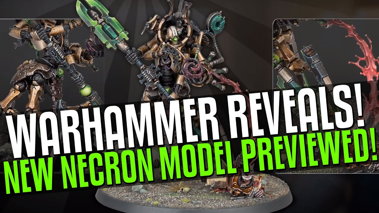 NEW NECRON & INQUISITOR MODEL! NEW PARIAH TRAILER