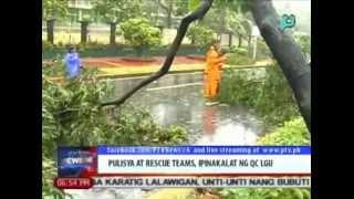 News@6: Pulisya at rescue teams, ipinakalat ng QC LGU || July 16, 2014