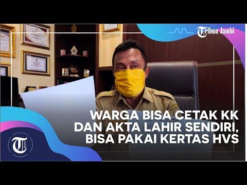 Warga Bisa Cetak KK dan Akta Lahir Sendiri, Bisa Pakai Kertas HVS from YouTube · Duration:  1 minutes 31 seconds