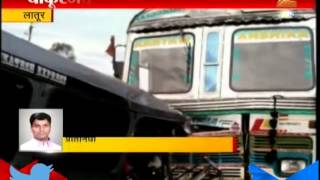 Latur: Accident Between Truck And Trax , 10 dead 24th July 2015