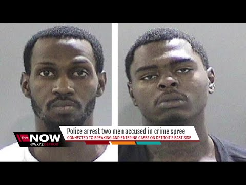 Two suspects arrested in series of break-ins on Detroit