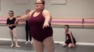 Юная американская балерина plus size
