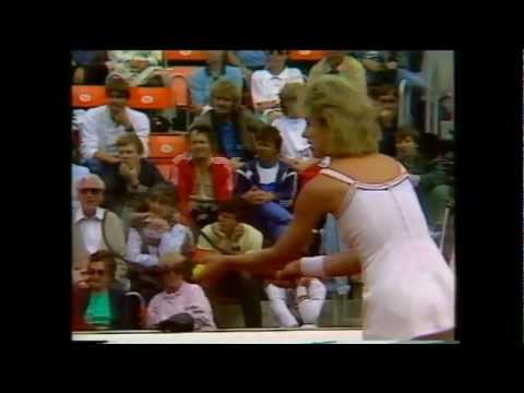Chris Evert Lloyd vs Bettina Bunge 1986 Federation Cup 3/3