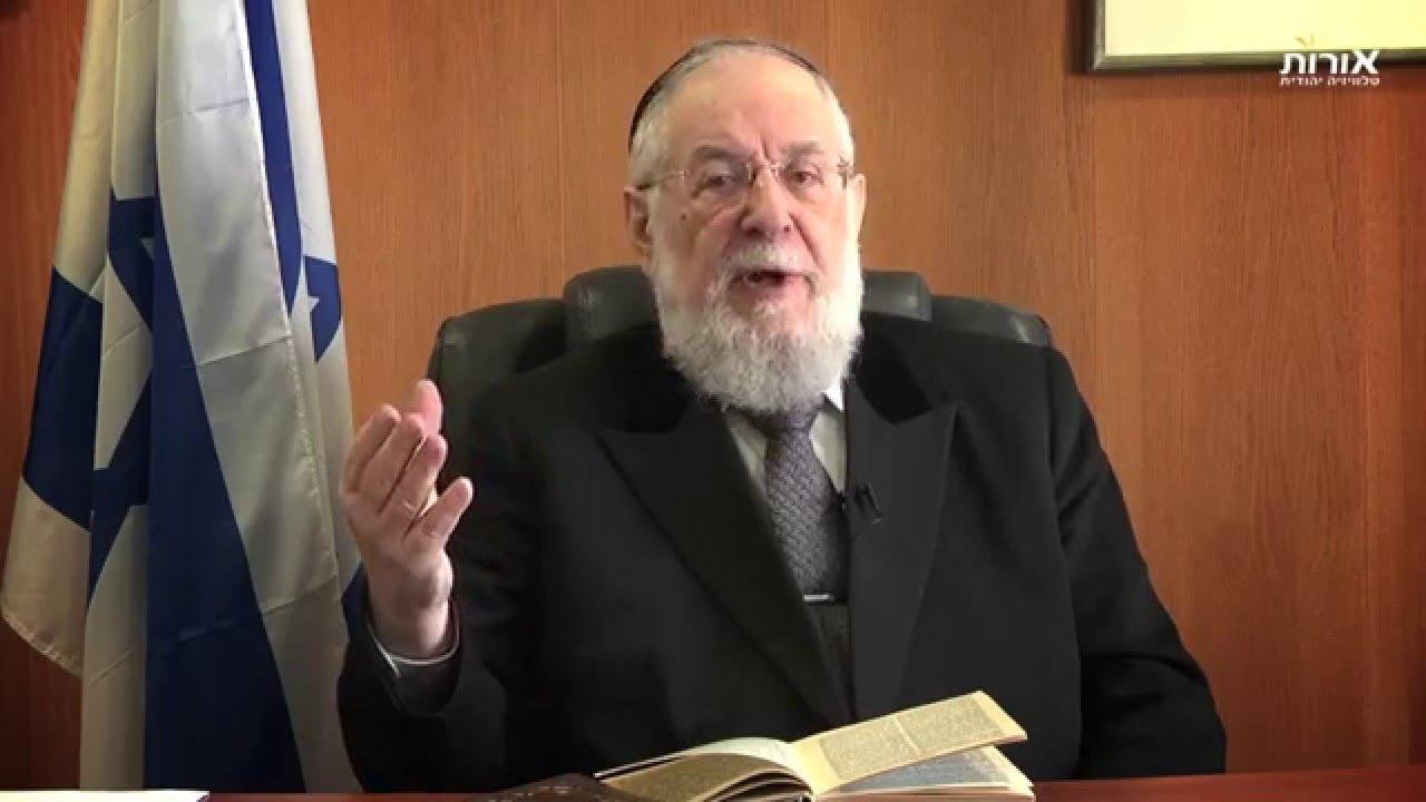 Weekly Torah Portion With Rabbi Lau - Parashat Vaera