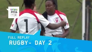 Rugby - Mens & Womens Group Stage Day 2 | Full Replay | Nanjing 2014 Youth Olympic Games