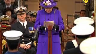 Queen Elizabeth commissions UK's biggest warship