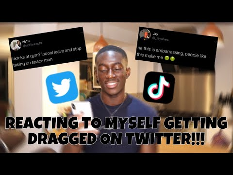 Download REACTING TO MYSELF GETTING DRAGGED ON TWITTER!!!😔 WHY THE UK IS BAD VIBES👎🏿😢