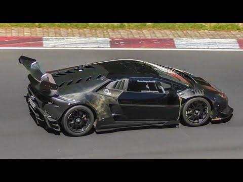 Road Legal Lamborghini Huracan Super Trofeo on the Nürburgring!