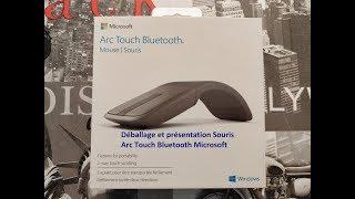 Déballage et présentation Souris Arc Touch Bluetooth Microsoft en Français (FR)