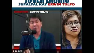 Erwin Tulfo lectured Jover Laurio