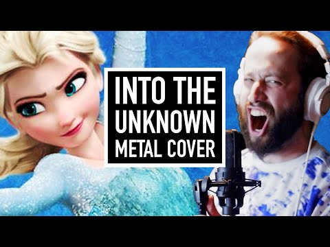 Into The Unknown - Frozen 2 (METAL COVER By Jonathan Young)