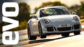 Porsche 911 GT3 on board footage | evo TCOTY