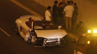 Audi R8 choca en la Javier Prado