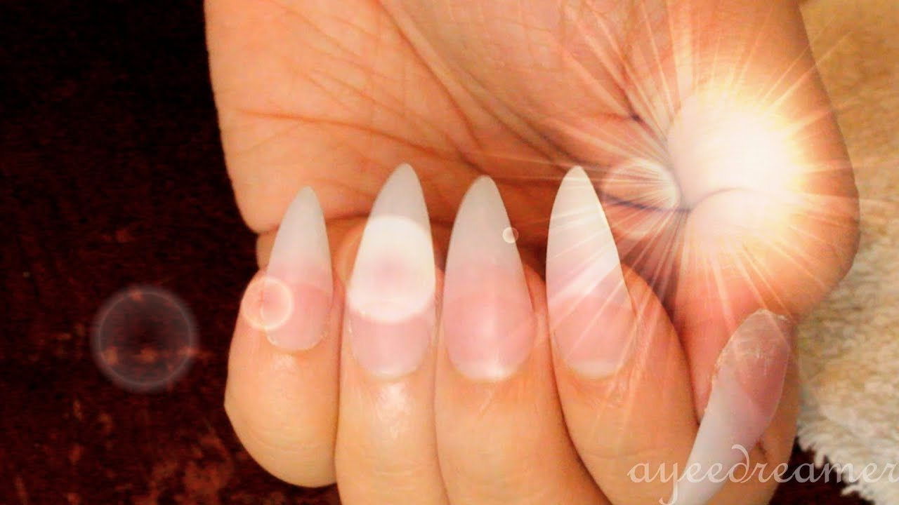 diy full set acrylic nail tutorial