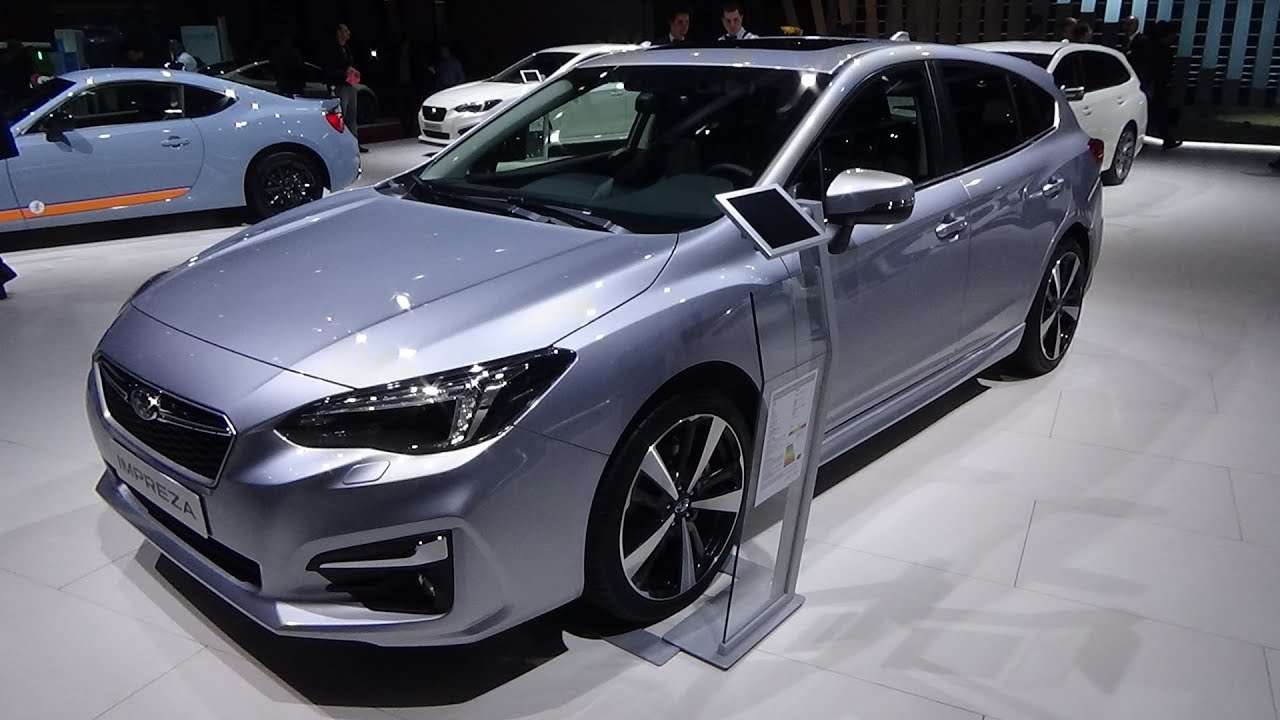 2019 Subaru Impreza 1 6i Awd Luxury