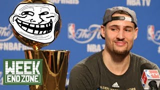 Klay Thompson TROLL OF THE WEEK! LeBron James' Agent Gets GIANT L! | WEZ