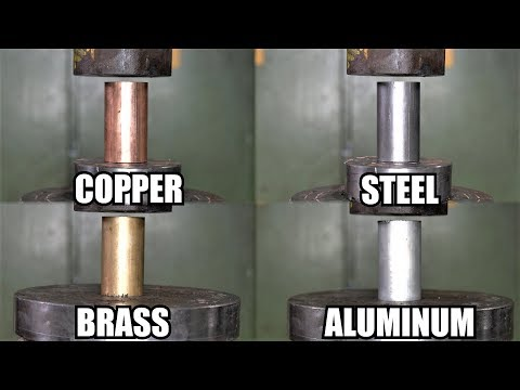 how-strong-are-metals?-explosion-+-broken-window!-hydraulic-press-test