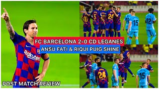Today we will be talking about the game between barca and leganes. in first half did seem to struggle put themselves a comfortable position. ...