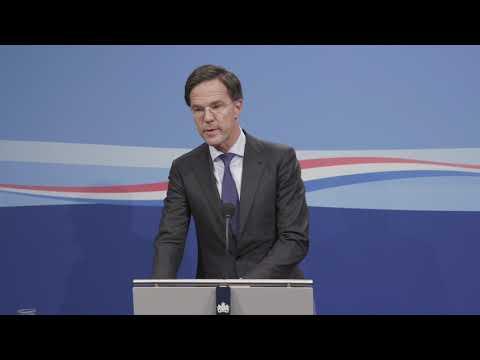 Minister-president Rutte over een Europees leger,  Brexit en het Sinterklaasfeest.