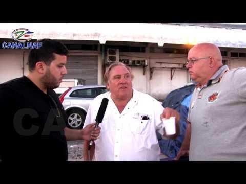 GERARD DEPARDIEU SE CONFIE SUR CANALNAF TV