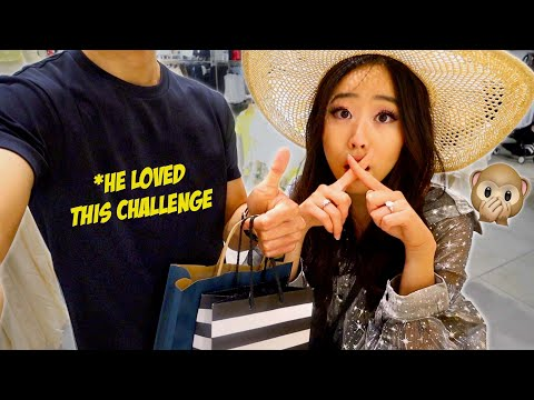 NO TALKING To My Fiancé for 24 HOURS CHALLENGE!! *So difficult