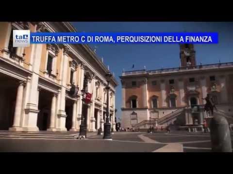 TRUFFA METRO C DI ROMA, PERQUISIZIONI DELLA FINANZA
