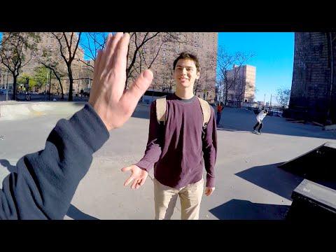 Skating New York with Josh Katz!
