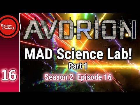 Avorion Season 2 Episode 16: MAD Science Lab / Part 1! #Avorion || Gameplay/Playthrough/Tutorial