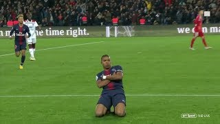 Kylian Mbappe's 4 Goal Performance vs Lyon • 2018/19