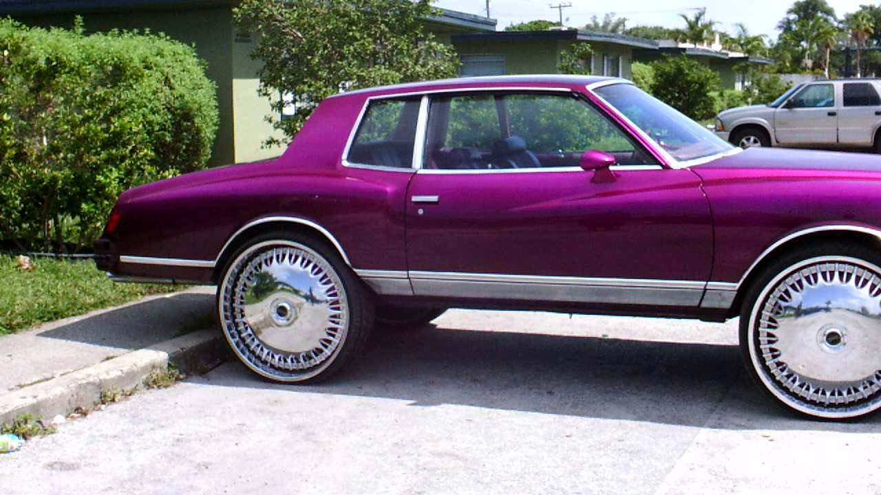 PiefaceWhips) 78 monte on 28's - YouTube