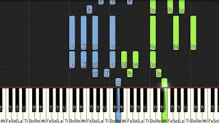 New Orleans Buck │piano tutorial for synthesia(ピアノ)