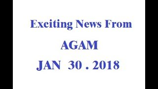 AGAM & Questra EXCITING Updates from 01.30 2018 MUST SEE!!!!