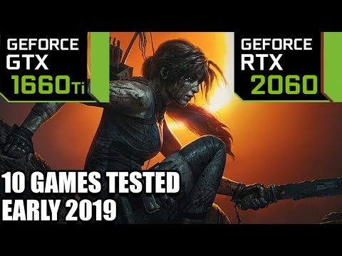 GTX 1660 Ti Vs RTX 2060 - 10 Games Tested On I5 8400 - Early 2019 - 1440p