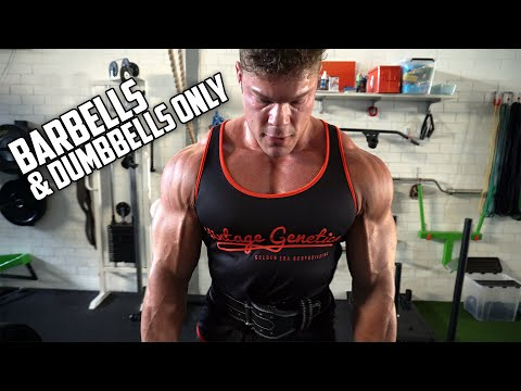 BACK Workout: BARBELLS & DUMBBELLS ONLY