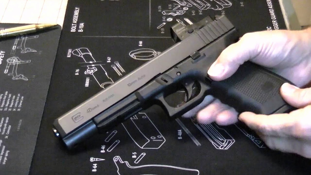 9 Inches Of Glock Glock 40 Gen 4 Mos Youtube