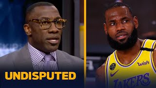 LeBron James should absolutely have more than four MVPs — Shannon Sharpe | NBA | UNDISPUTED